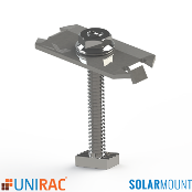 UNIRAC Mid Clamp Clear BC 30-36mm Bonding SolarMount 302027C