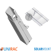 UNIRAC Tilt Leg 8-12 inch Adjustable w/ Hardware SolarMount