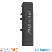 UNIRAC End Cap Black For Standard Rail SolarMount SM Qt.1