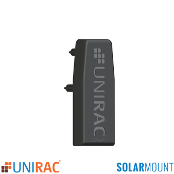 Unirac End Cap Black For LIGHT Rail SolarMount SM Qt.1