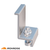 IRONRIDGE End Clamp F Kit, 1.81in Mill, 4 pcs. 29-7000-214