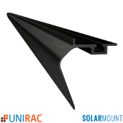 UNIRAC Trim (Skirt) 168 in. 14 Ft. DARK SolarMount SM