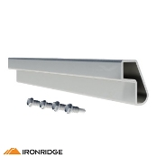 IRONRIDGE Splice Kit for XR10 Rail, Bonded XR-10-SPLC-BD