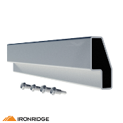 IRONRIDGE Splice Kit for XR100 Rail, Bonded XR-100-SPLC-BD