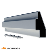 IRONRIDGE Splice Kit for XR1000 Rail, Bonded XR-1000-SPLC-BD