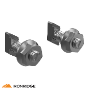 IRONRIDGE Microinverter Bonded Mounting Kit w/ T-Bolt 2 pcs.