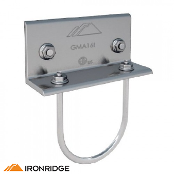 IRONRIDGE SGA Bonded Rail Connector 2 inch