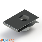 UNIRAC RM5 RMDT Clip U-Nut for Clamps/Deflector