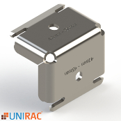 UNIRAC RM5 RMDT End Clamp for 32-40mm module frames