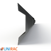 UNIRAC RM5 7Ft Wind Deflector for Roof Mount 5 Degree Tilt