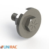 UNIRAC RM5 Wind Deflector Hardware Kit