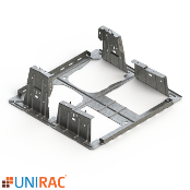 UNIRAC RM5 Ballast Bay Galvanized Steel 5 Degree Tilt