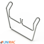 UNIRAC RM5 WD Wire MGMT Clip for Wind Deflector