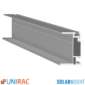 UNIRAC Rail Heavy Duty HD 168 in. 14 Ft. MILL SolarMount SM