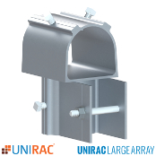 UNIRAC ULA 2 inch Rear Cap for Ground Mount