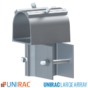 UNIRAC ULA 2 inch Front Cap for Ground Mount