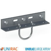 UNIRAC ULA 2 inch Rail Bracket for Ground Mount