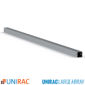 UNIRAC ULA 10.5ft Brace fits 2 inch pipe for Ground Mount