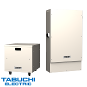 Tabuchi DC Coupled 5.5kW Inverter w/9.89kWh Li-ion Battery