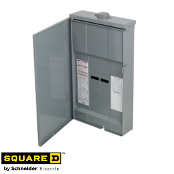 SQUARE-D QO Load Center 12 Space 200A 120/240VAC NEMA 3R