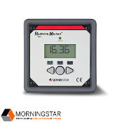 MORNINGSTAR Remote Meter for SS-MPPT, SSDuo, SureSine RM-1