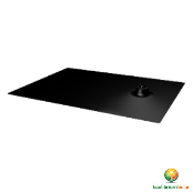 ECOLIBRIUM SOLAR - EcoX BLACK Comp. Shingle Flashing ES10197