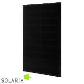 SOLARIA PowerXT 325W High Power ALL BLACK 60 Cell Mono PERC