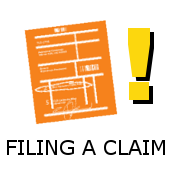 How do I file a claim for missing or damaged items?