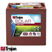 TROJAN Solar AGM SAGM 6V 220Ah at 20 Hr Deep Cycle Battery