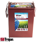 TROJAN Solar AGM SAGM 6V 375Ah at 20 Hr Deep Cycle Battery