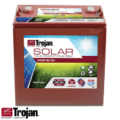 TROJAN Solar AGM SAGM 8V 165Ah at 20 Hr Deep Cycle Battery