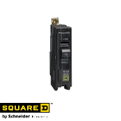 SQUARE-D QO215 PlugOn Breaker 15A 120/240VAC 2-Pole