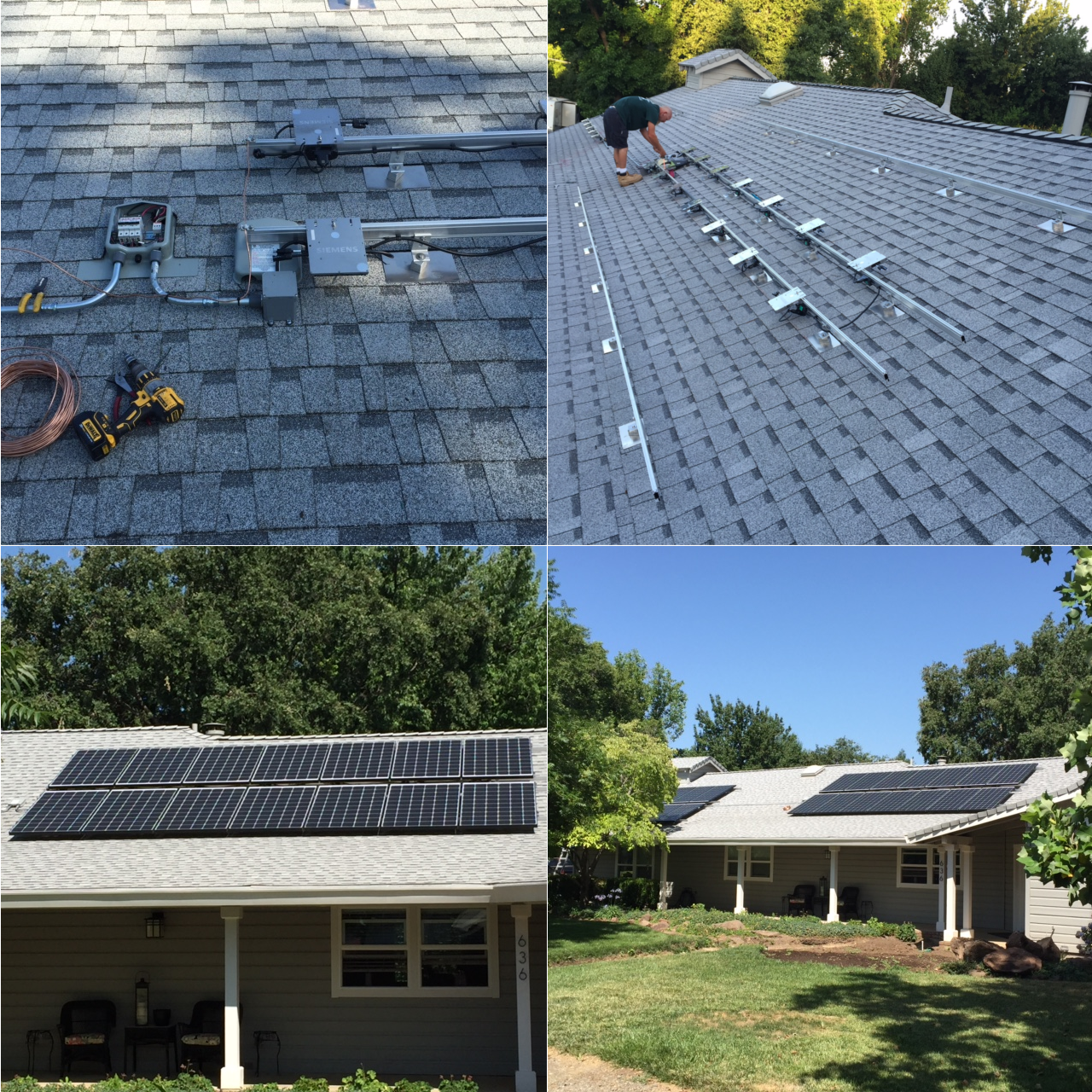 7.2 Kw Rooftop System with Aleo Solar Panels + Enphase Microinverters | RENVU
