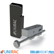UNIRAC SolarMount PRO SERIES Universal End Clamp w/ End Cap