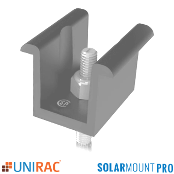 UNIRAC SolarMount PRO SERIES Universal Mid Clamp Mill 302030