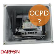 Are OCPD breakers included with the Darfon Com Box?