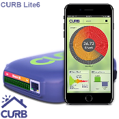 Curb Energy Monitor Lite6 - Home Energy Monitoring System