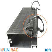 UNIRAC 404015 DGFT Wire Management Clip