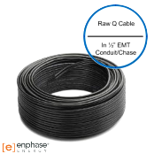 Enphase 240VAC 1-Phase Trunk Cable IQ No Connectors Q-12-RAW