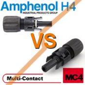 MC4 VS H4 - Multi-contact MC4 Compared To Amphenol H4