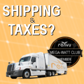 Shipping and Tax Cost On Solar Equipment?