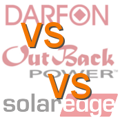 Darfon vs Outback vs SolarEdge Battery Backup Systems