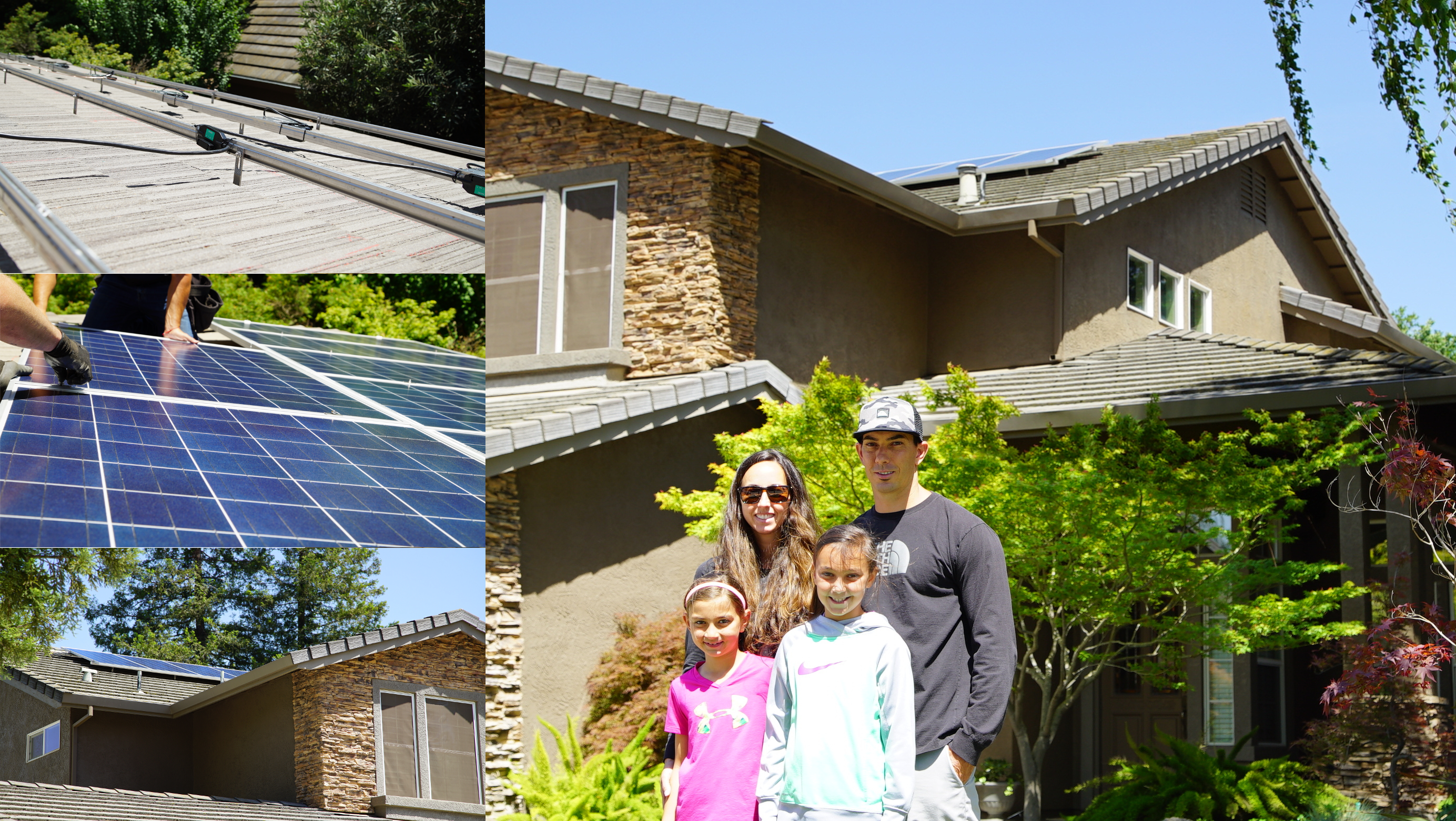 Andre Full Solar System Panels Installation on Home