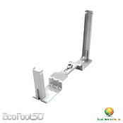 ECOLIBRIUM SOLAR ES10480 EcoFoot5D Mid-Support Kit