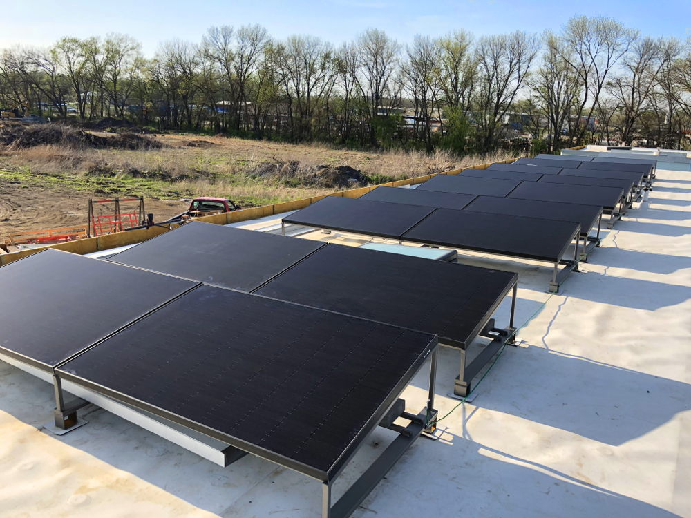Studio 804 All Solar Panels Installed | Renvu