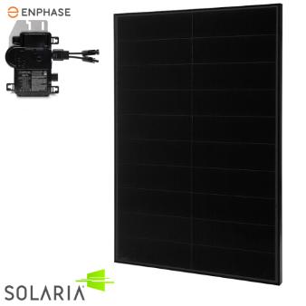 Solaria Enphase Powerxt 355w All Black 60 Cell M Renvu