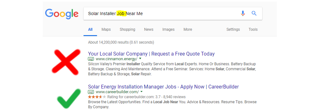 Do You Want to Pay for Solar Installer Job Near Me or just Solar Installer Near Me