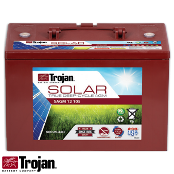 TROJAN Solar AGM SAGM 12V 105Ah at 20 Hr Deep Cycle Battery