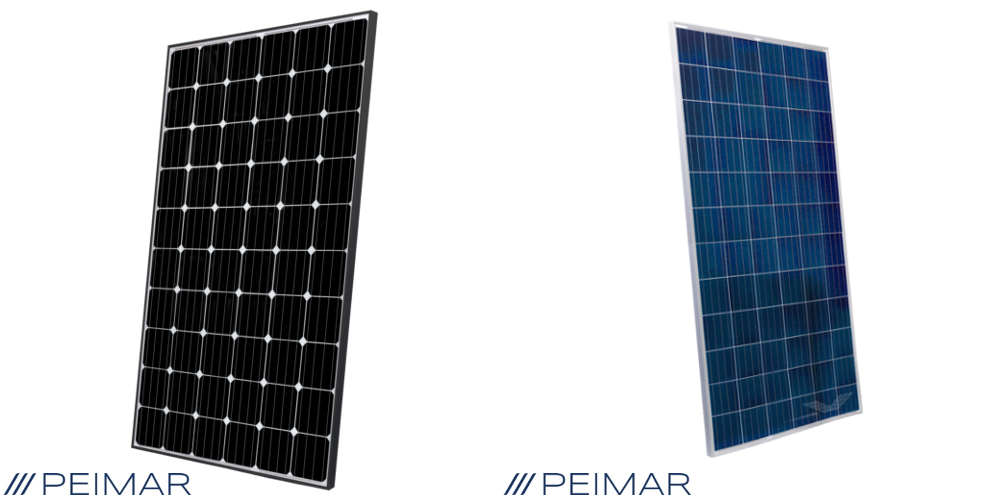 Peimar 300W 60 cell vs 325W 72 cell