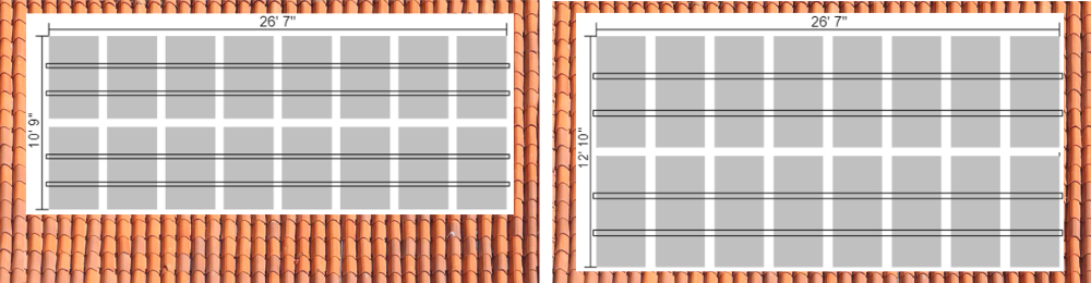 60 vs 72 Cell size on roof example 2